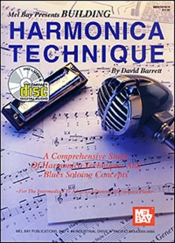 Building Harmonica Technique-Book and CD