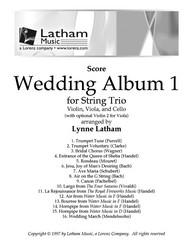 Wedding Album for String Trio-Score