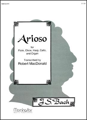Arioso-Fl, Ob, Harp, Cello & Organ