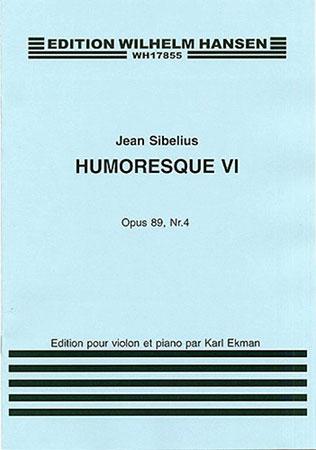 Humoresque No. 6, Op. 89 No. 4