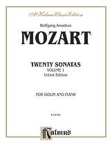 20 Sonatas Volume 1-Violin