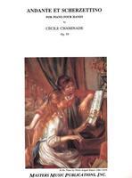 Andante et Scherzettino-Pf/4hnds