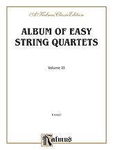 Album of Easy String Quartets No. 3