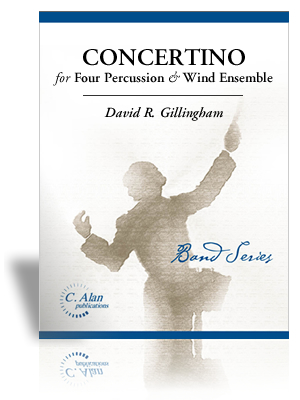 Concertino for Four Percussion & Wind Ensemble