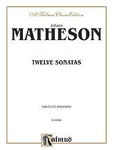 12 Sonatas-Flute