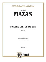 12 Little Duets Op. 38-Violin Duet
