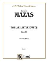 12 Little Duets Op. 70-Violin Duet