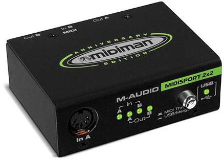 MIDIman MIDIsport 2x2 Anniversary Edition