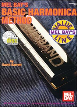 Basic Harmonica Method-Book and CD