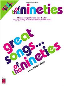 Great Songs of the 90s by NEW YORK TIMES| J W  Pepper Sheet Music
