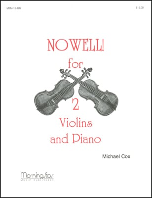 Nowell for Two Violins and Piano
