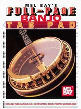 Manuscript Banjo Tab Pad