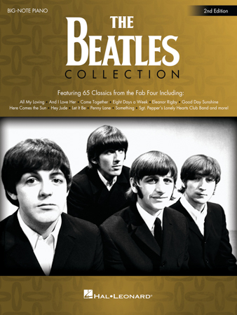 Beatles Collection-Big Note Piano