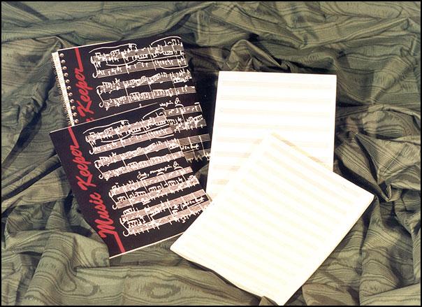 Manuscript Book-Music Keeper