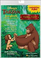 Tarzan Songbook-Book/Harmonica