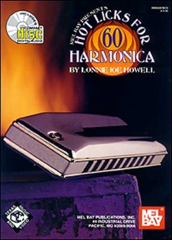60 Hot Licks for Harmonica-Book and CD