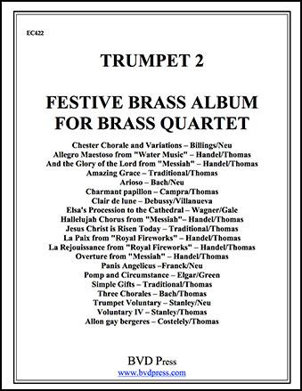 Festive Brass Album Cover