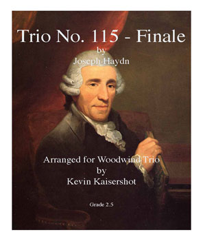 Finale from Trio No. 115-Woodwind Trio