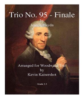 Finale from Trio No. 95-Flute/Oboe/Clarinet
