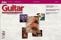 Guitar Manuscript No. 8 Tab Staf