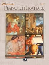 Discovering Piano Literature No. 2