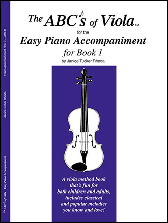 Abc's of Viola No. 1-Piano Accomp