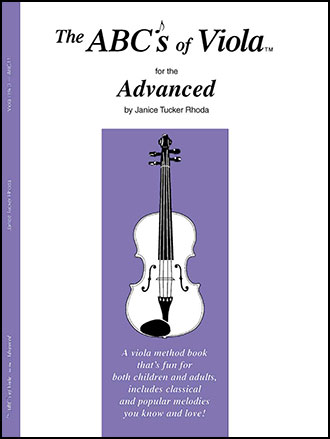 Abc's of Viola No. 3-Advanced