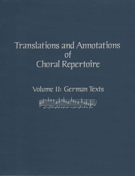 Translations and Annotations, Vol. 2