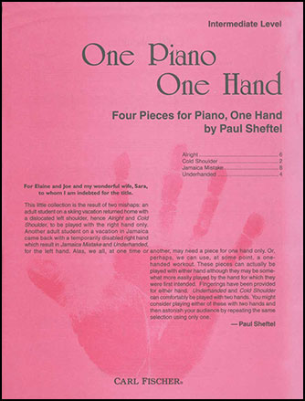 One Piano One Hand Thumbnail