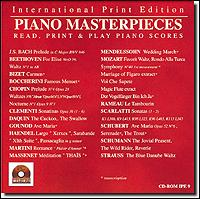 Masters Collection-Piano Masterpiec