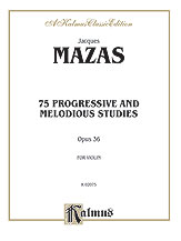 75 Progressive and Melodious Studies, Op. 36