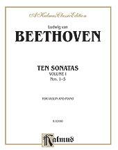 Ten Sonatas-Vol 1-No. 1-5-Violin