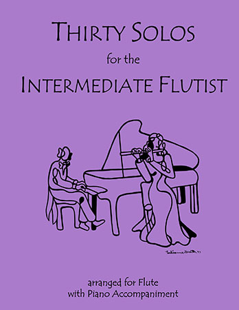 30 Solos for the Intermediate Flute