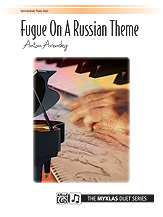 Fugue on a Russian Theme Op. 34 No. 6