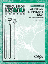 African Elephant Run-Percussion Sextet