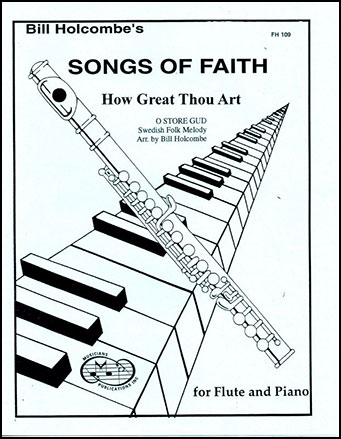 How Great Thou Art-Flute (Flute Solo with Pi | J.W. Pepper Sheet Music