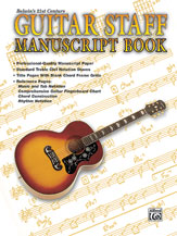 21st Century Guitar Staff Manuscrip