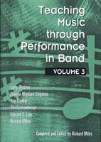 Teaching Music Through Performance in Band, Vol. 3