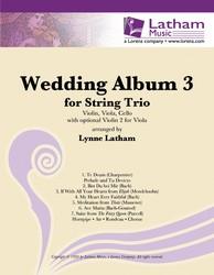 Wedding Album No. 3-Violin/Viola/Cello