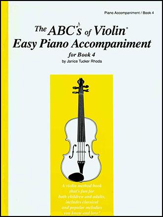 ABC's of Violin No. 4 Piano Accompaniment