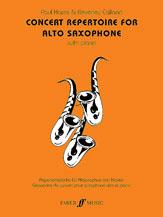 Concert Repertoire for Alto Sax