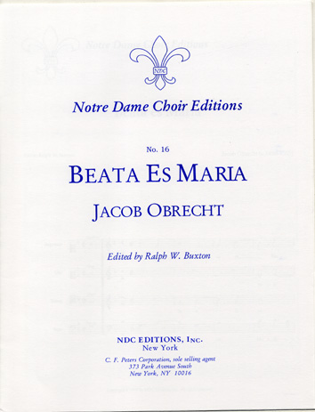 Beata Es Maria