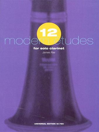 12 Modern Etudes-Clarinet