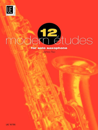 12 Modern Etudes-Saxophone