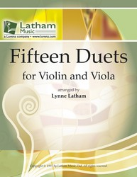 15 Duets for Violin and Viola