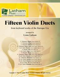 15 Violin Duets