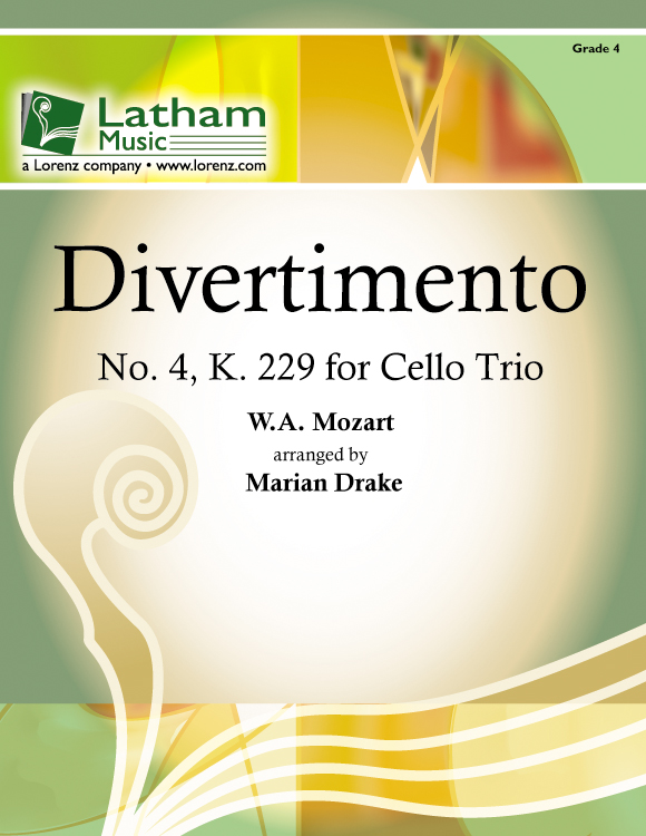 Divertimento No. 4 - Cello Trio