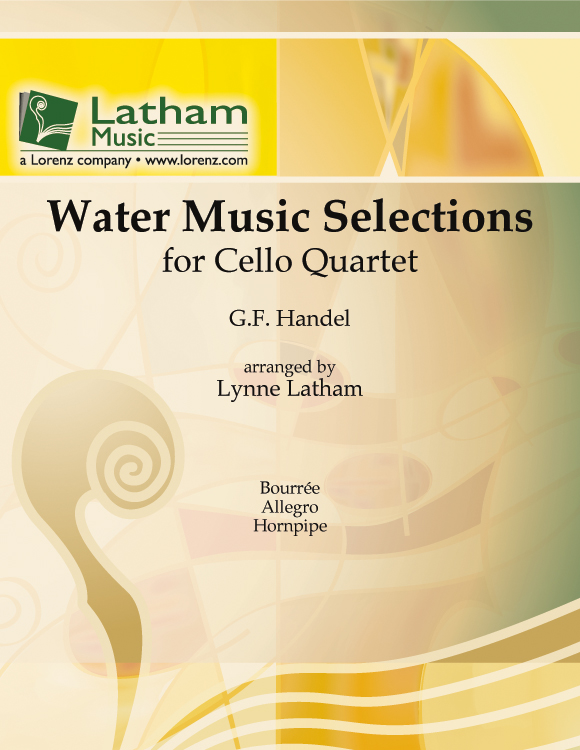 Water Music-Selections-Cello Quart