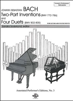 Two Part Inventions and the Four Duets