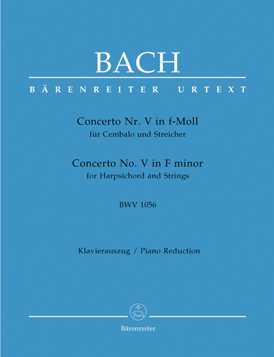 Concerto No. 5 in F Minor, BWV1056